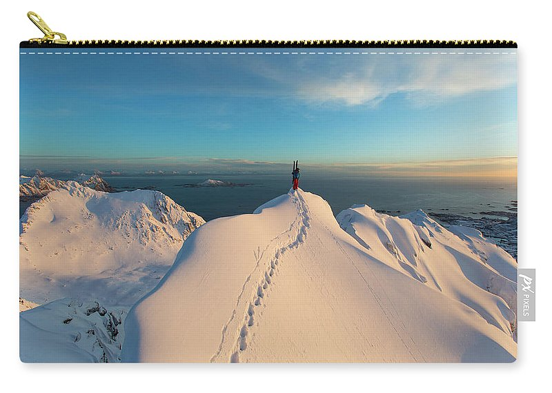 Achievement Carry-all Pouch featuring the photograph Clad000148 by Adam Clark