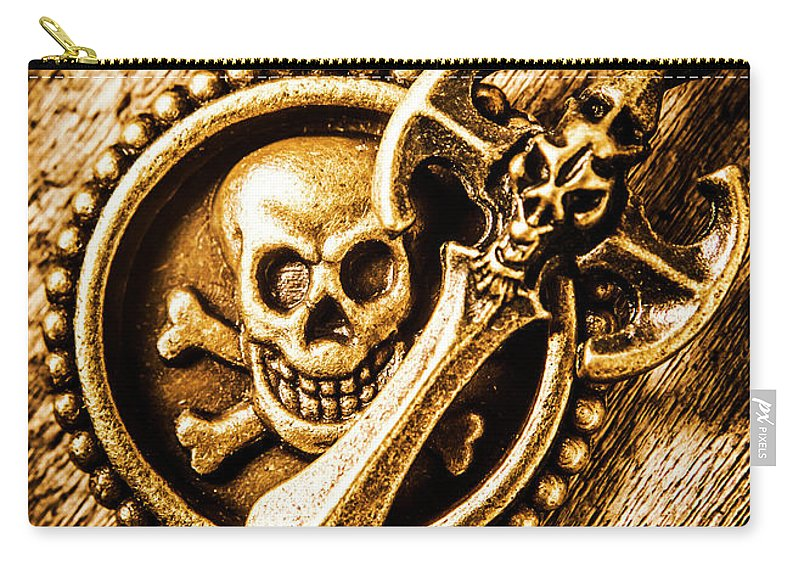 Pirate Carry-all Pouch featuring the photograph Clash Of The Dead by Jorgo Photography - Wall Art Gallery