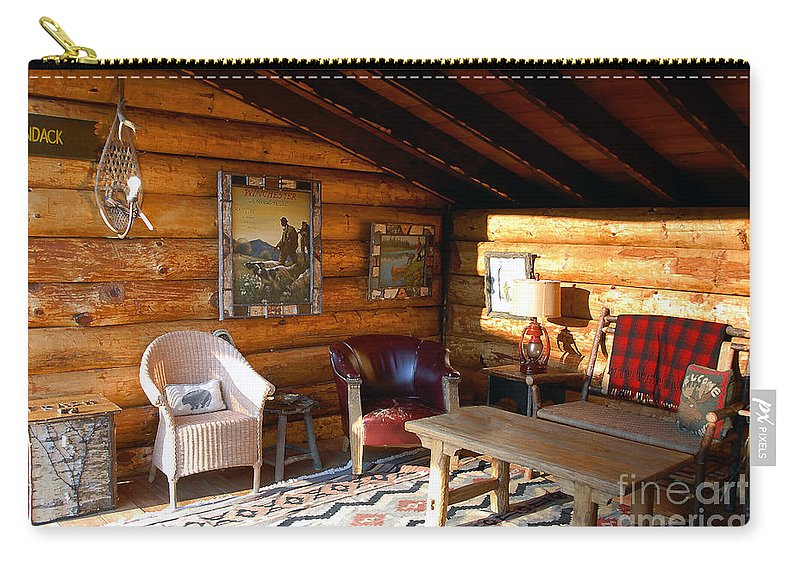 Adirondack Carry-all Pouch featuring the photograph Classic Adirondack by David Lee Thompson