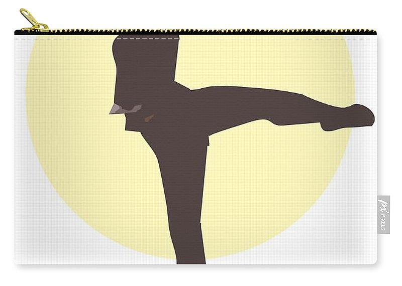 Dancer Carry-all Pouch featuring the digital art Classic Ballet Dancer by Joaquin Abella