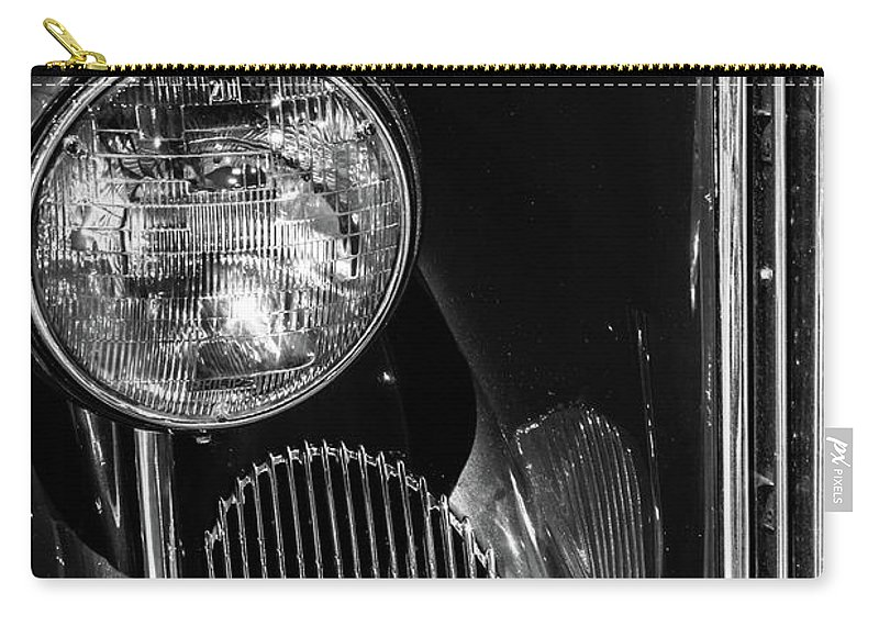 National Packard Museum Carry-all Pouch featuring the photograph Classic Black by Stewart Helberg
