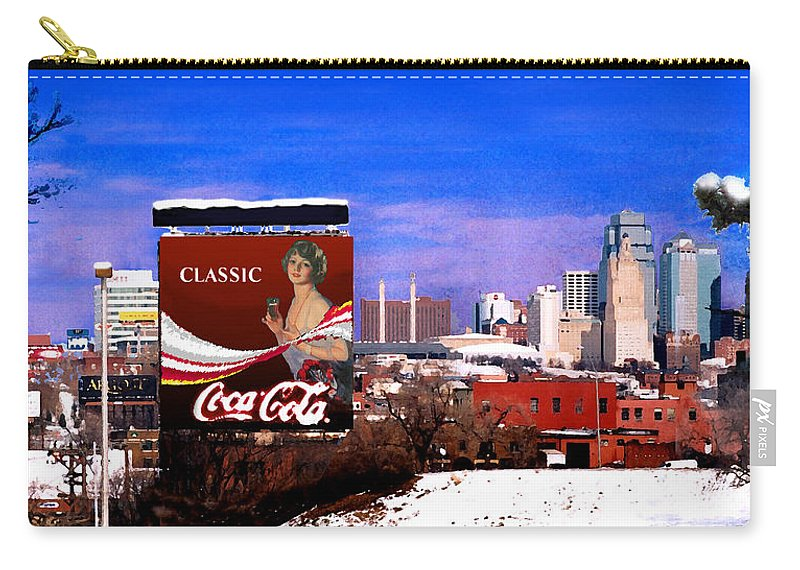 Landscape Carry-all Pouch featuring the photograph Classic by Steve Karol