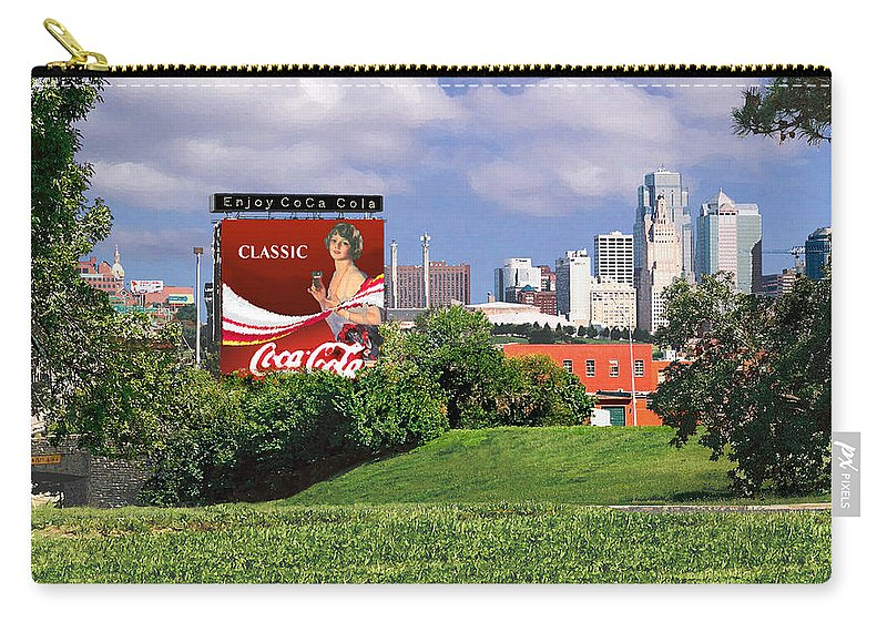 Landscape Carry-all Pouch featuring the photograph Classic Summer by Steve Karol