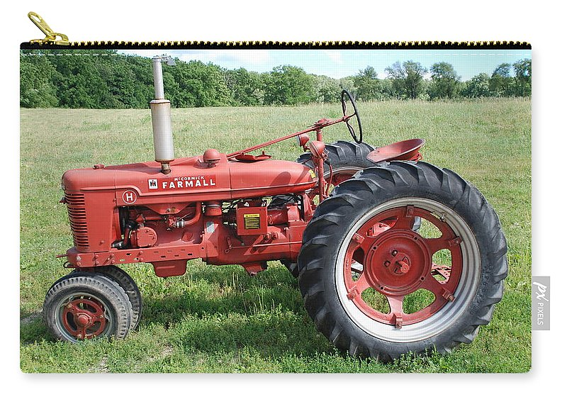 Farm Carry-all Pouch featuring the photograph Classic Tractor by Richard Bryce and Family