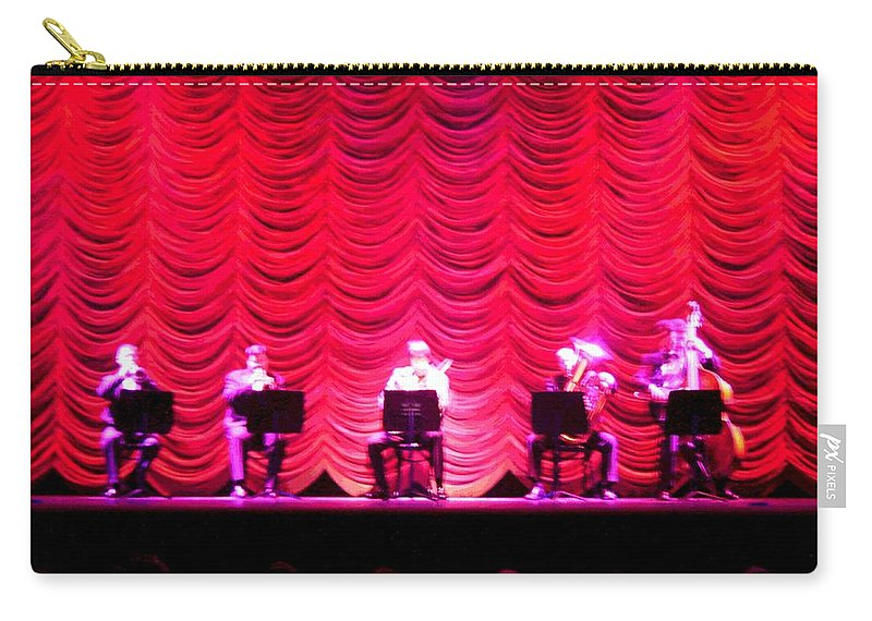 Classical Carry-all Pouch featuring the photograph Classical Quintet by Sherry Oliver