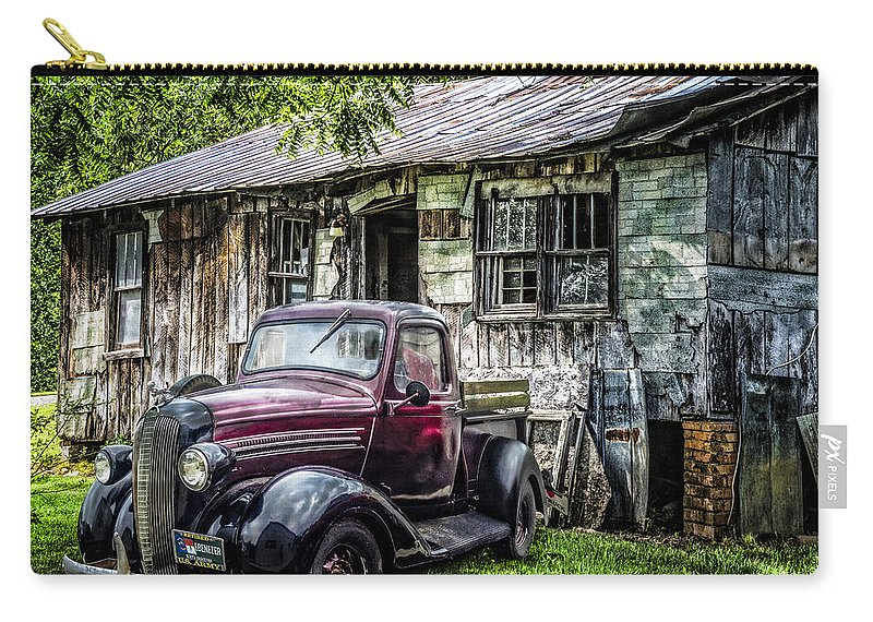 Appalachia Carry-all Pouch featuring the photograph Classically Country by Debra and Dave Vanderlaan