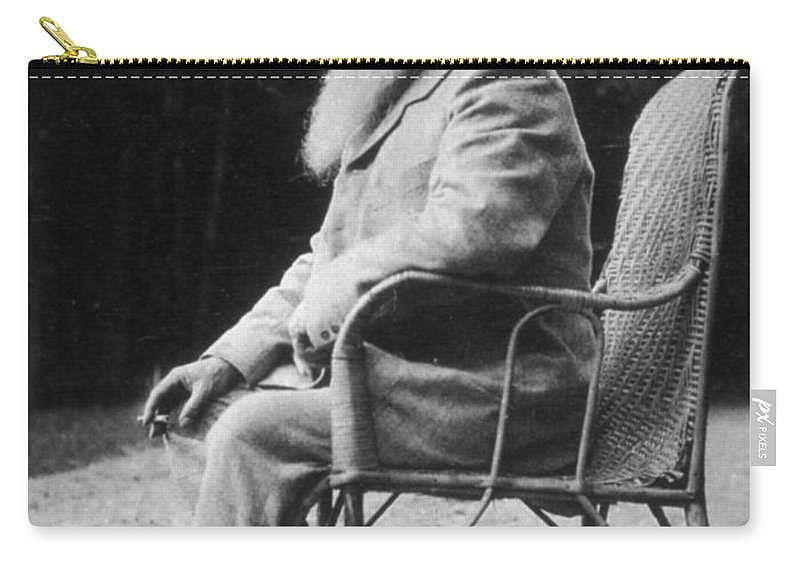 20th Century Carry-all Pouch featuring the photograph Claude Monet (1840-1926) by Granger