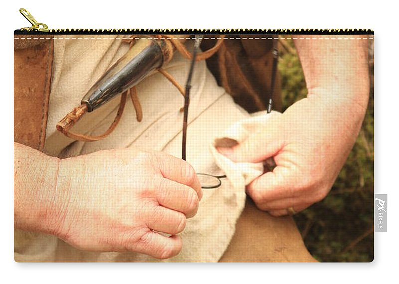 Carry-all Pouch featuring the photograph Clean View by Kim Henderson