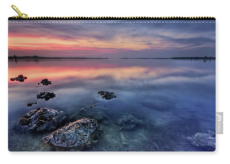 Morning Carry-all Pouch featuring the photograph Clear Blue Morning by Evelina Kremsdorf