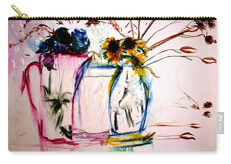 Still Life Carry-all Pouch featuring the painting Clear by Jack Diamond