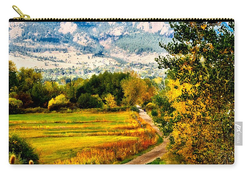 Americana Carry-all Pouch featuring the photograph Clearly Colorado by Marilyn Hunt