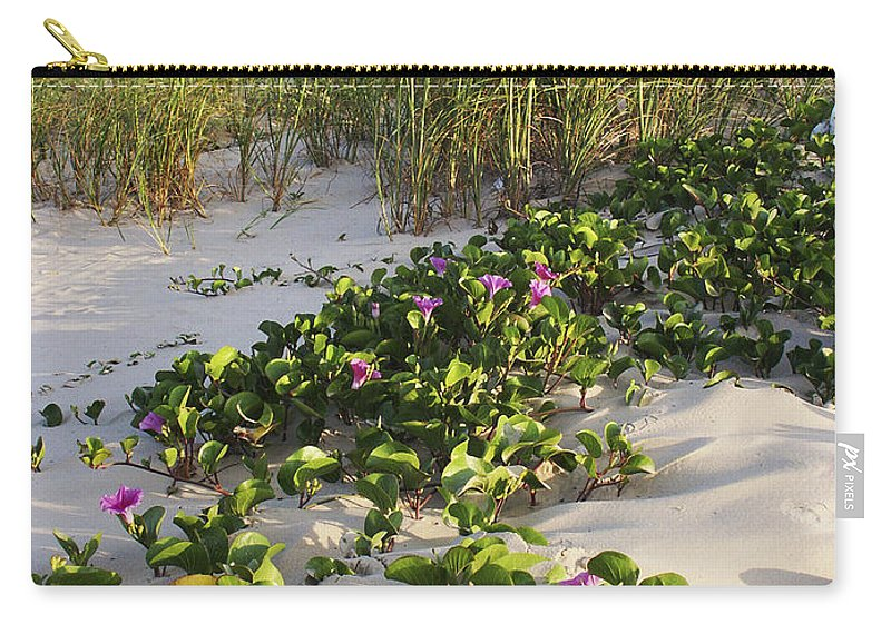 Nature Carry-all Pouch featuring the photograph Climbing The Dunes by Marilyn Hunt