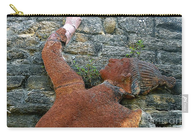 Tomoka State Park Carry-all Pouch featuring the photograph Climbing To Tomoka by David Lee Thompson