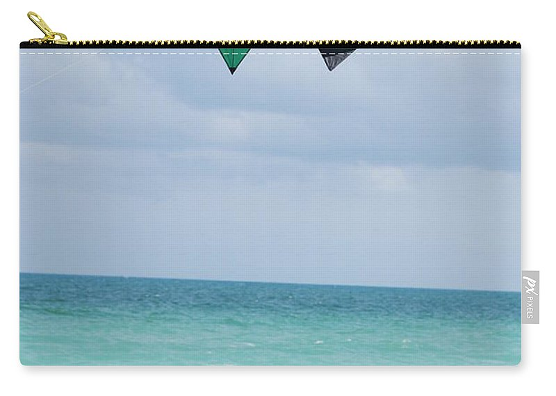 Sea Scape Carry-all Pouch featuring the photograph Close Encounters by Rob Hans