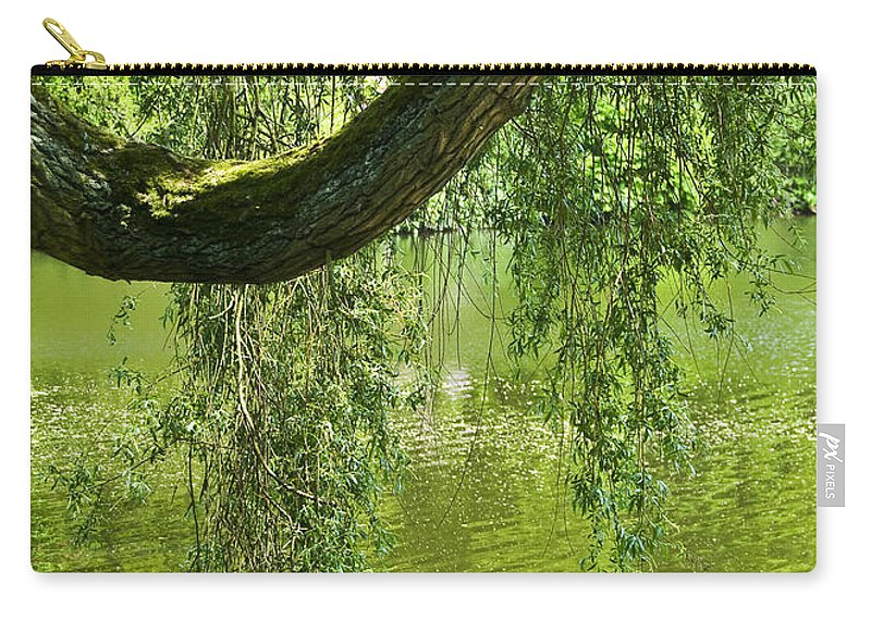 Countryside Carry-all Pouch featuring the photograph Close To Water by Svetlana Sewell