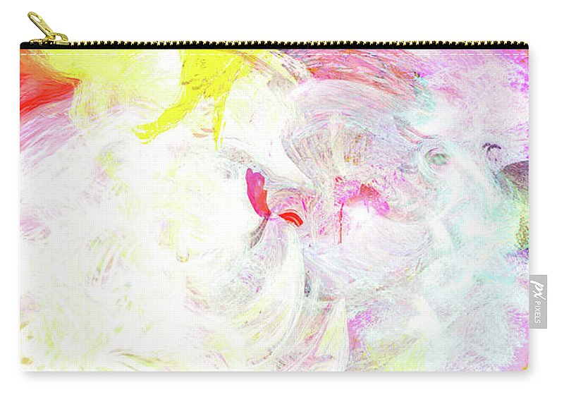 Cloud Art Carry-all Pouch featuring the digital art Cloud 9 by Linda Sannuti