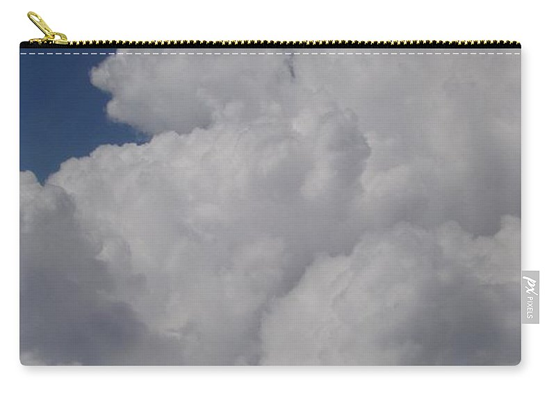 Clouds Carry-all Pouch featuring the photograph Cloud Depth I by Deborah Crew-Johnson