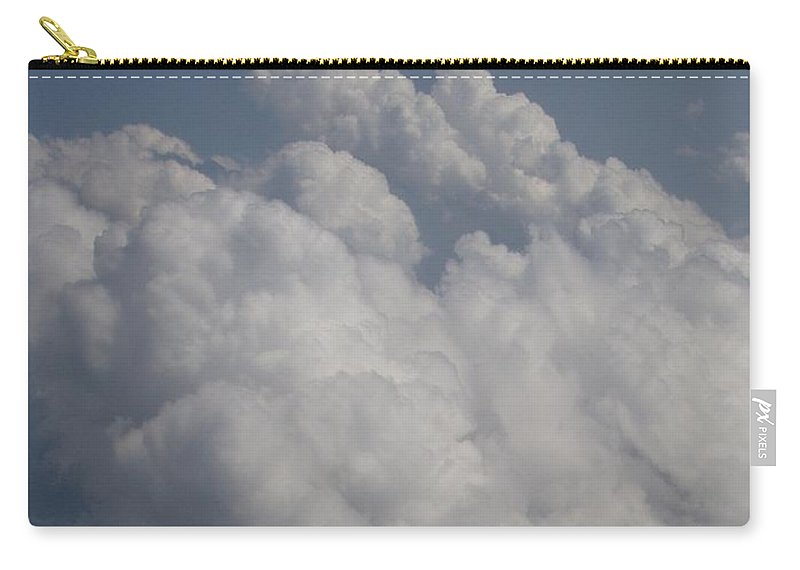 Clouds Carry-all Pouch featuring the photograph Cloud Depth II by Deborah Crew-Johnson