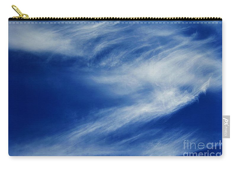 Clay Carry-all Pouch featuring the photograph Cloud Formations by Clayton Bruster