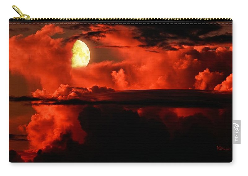 Emotion Carry-all Pouch featuring the photograph Cloud Rider by Max Steinwald