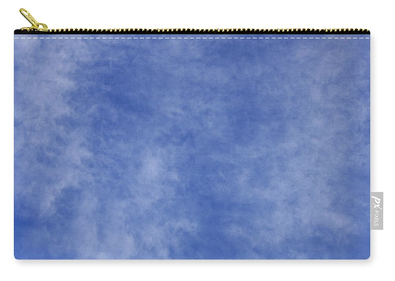 Cloud.sky Carry-all Pouch featuring the photograph Clouds 1 by Teresa Mucha