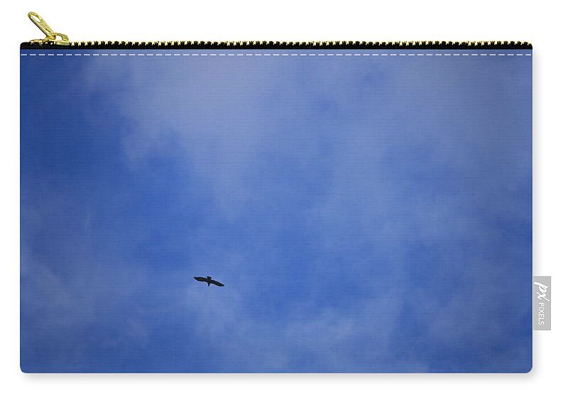Cloud.sky Carry-all Pouch featuring the photograph Clouds 2 by Teresa Mucha