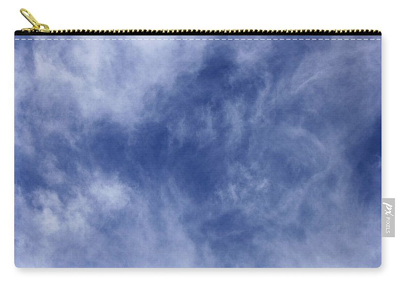 Cloud.sky Carry-all Pouch featuring the photograph Clouds 4 by Teresa Mucha