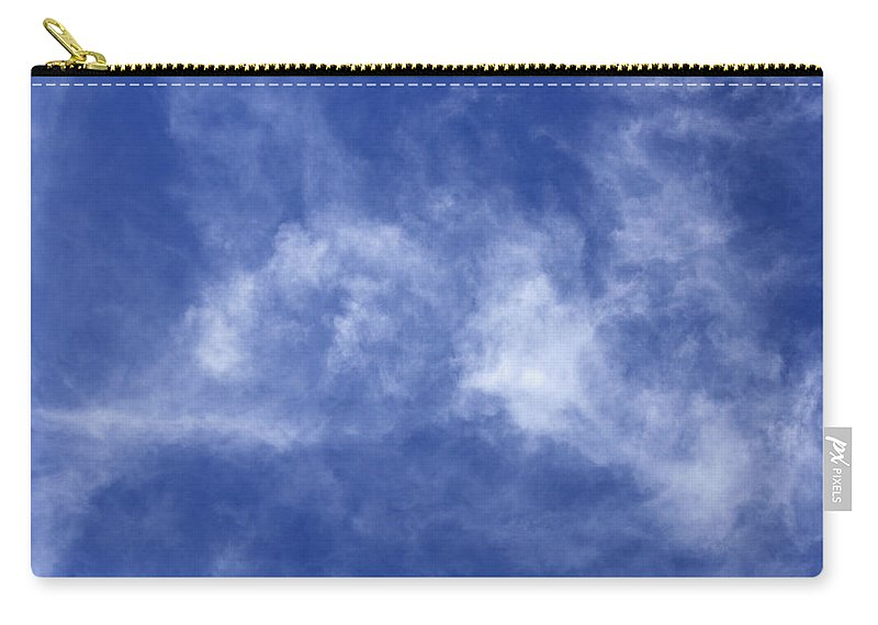 Cloud.sky Carry-all Pouch featuring the photograph Clouds 6 by Teresa Mucha