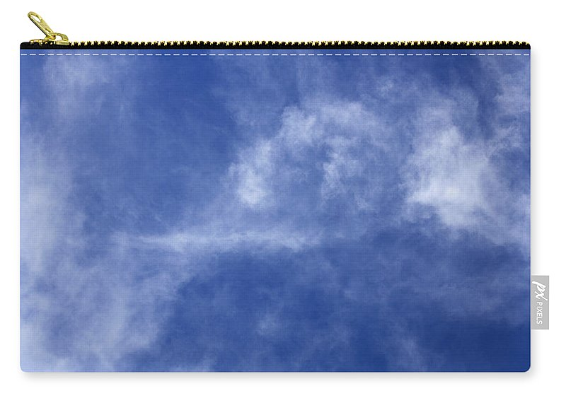 Cloud.sky Carry-all Pouch featuring the photograph Clouds 7 by Teresa Mucha