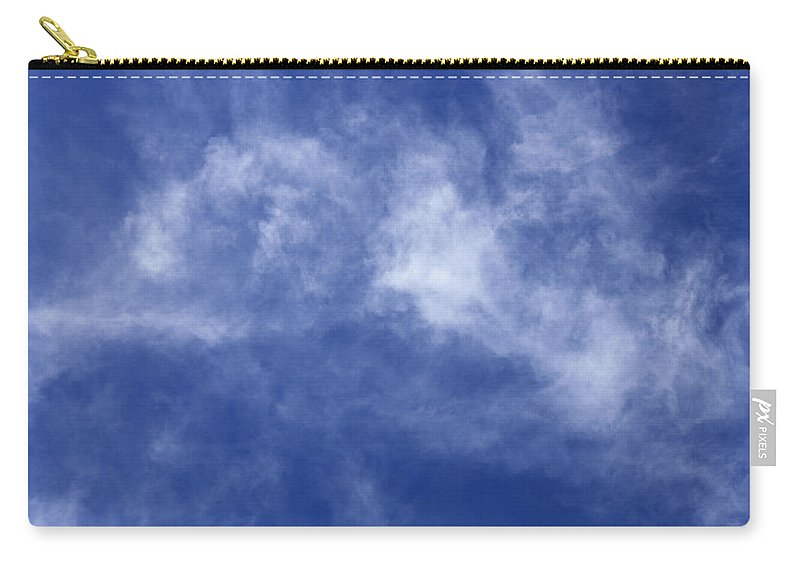 Cloud.sky Carry-all Pouch featuring the photograph Clouds 8 by Teresa Mucha