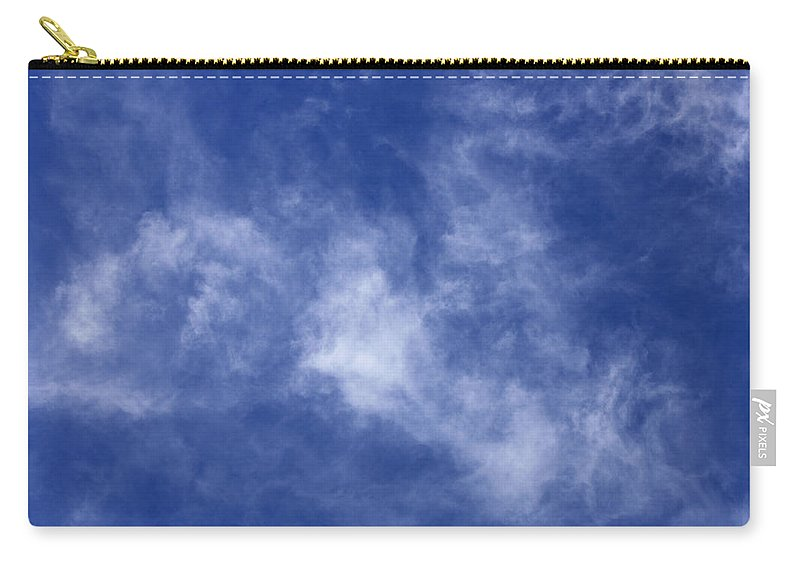 Cloud.sky Carry-all Pouch featuring the photograph Clouds 9 by Teresa Mucha