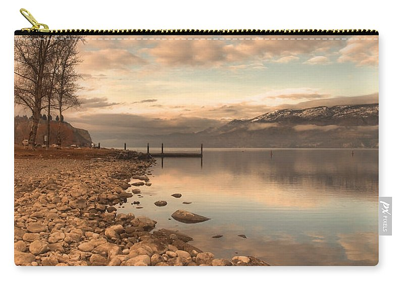 Clouds Carry-all Pouch featuring the photograph Clouds And Calmness by Tara Turner