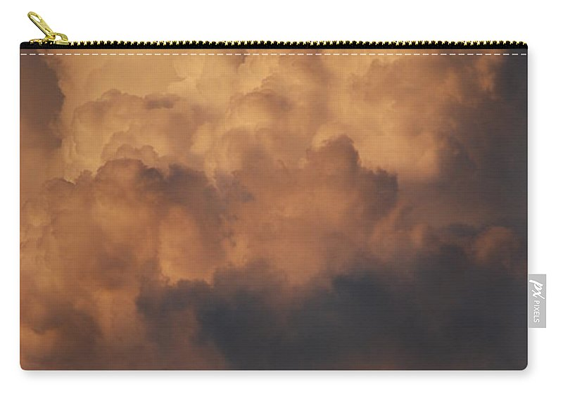 Clouds Carry-all Pouch featuring the photograph Clouds In Color by Rob Hans
