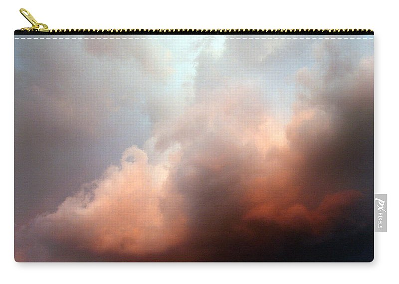 Clouds Carry-all Pouch featuring the photograph Clouds No 6 by Marna Edwards Flavell
