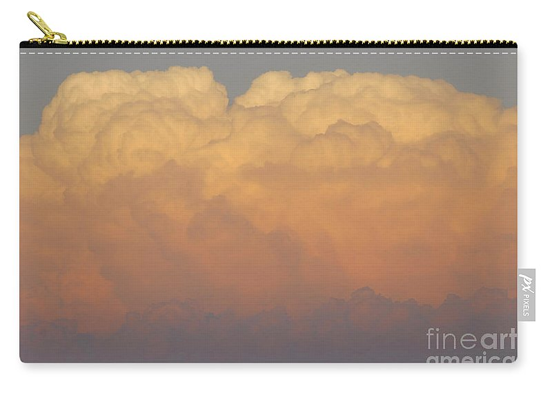Clouds Carry-all Pouch featuring the photograph Cloudscape Work Number Six by David Lee Thompson