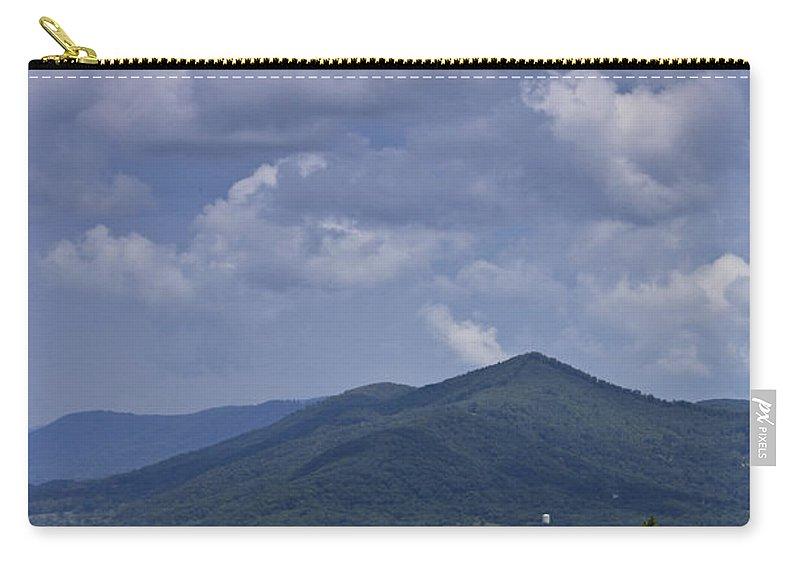 Roanoke Carry-all Pouch featuring the photograph Cloudy Day In Virginia by Teresa Mucha