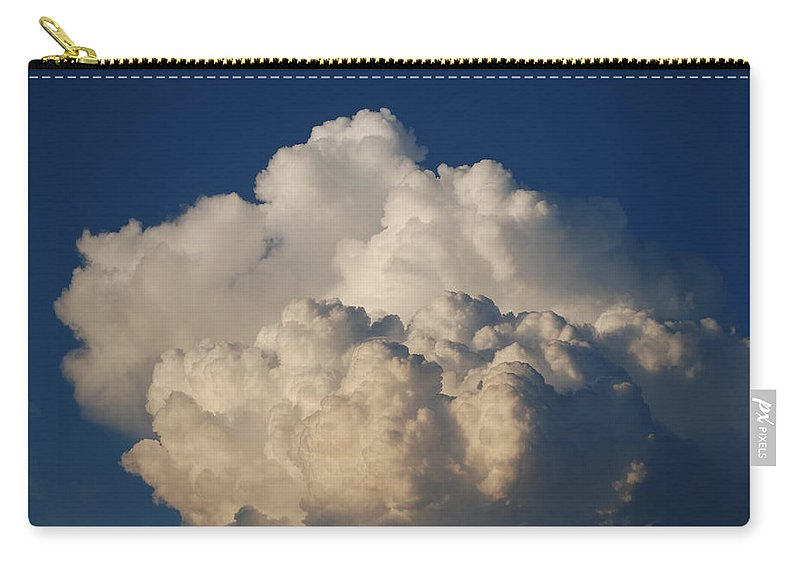 Clouds Carry-all Pouch featuring the photograph Cloudy Day by Rob Hans