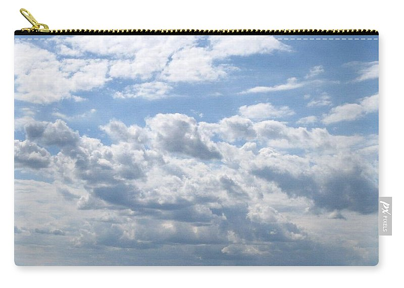 Clouds Carry-all Pouch featuring the photograph Cloudy by Rhonda Barrett