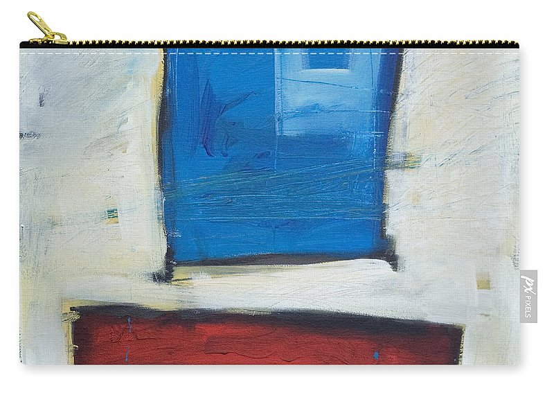 Clown Carry-all Pouch featuring the painting Clown by Tim Nyberg