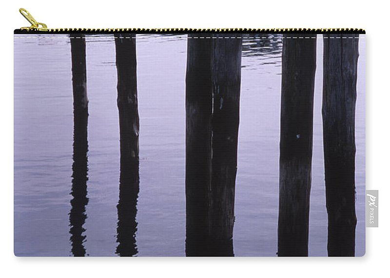 Landscape New England Fishing Boat Nautical Coast Carry-all Pouch featuring the photograph Cnrf0907 by Henry Butz