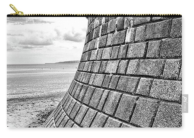 Defence Carry-all Pouch featuring the photograph Coast - Defend The Shore by Mary Bassett