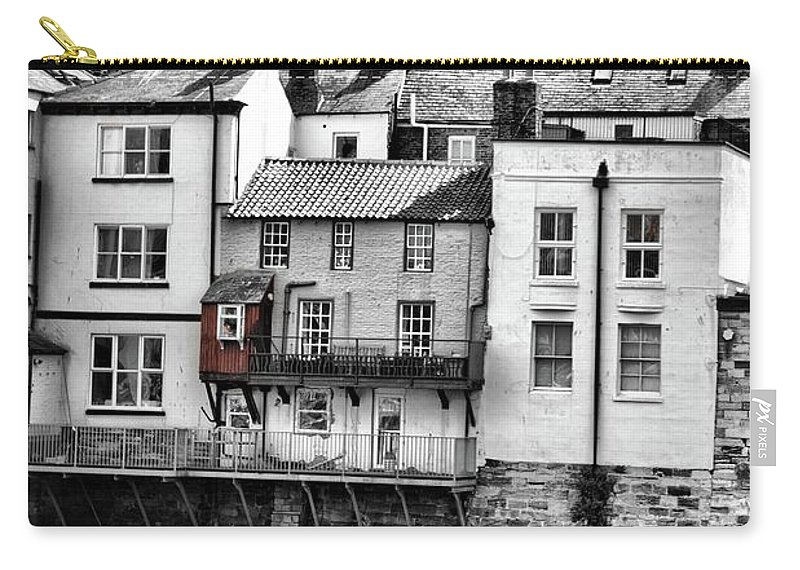 House Carry-all Pouch featuring the photograph Coast - Whittby House by Mary Bassett