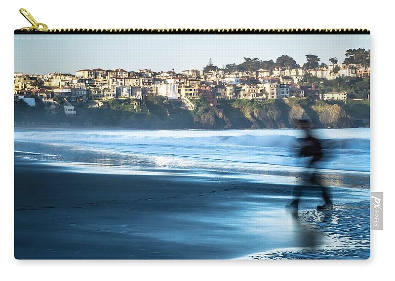 Usa Carry-all Pouch featuring the photograph Coastal Scenes At Usa Pacific Coast by Alex Grichenko