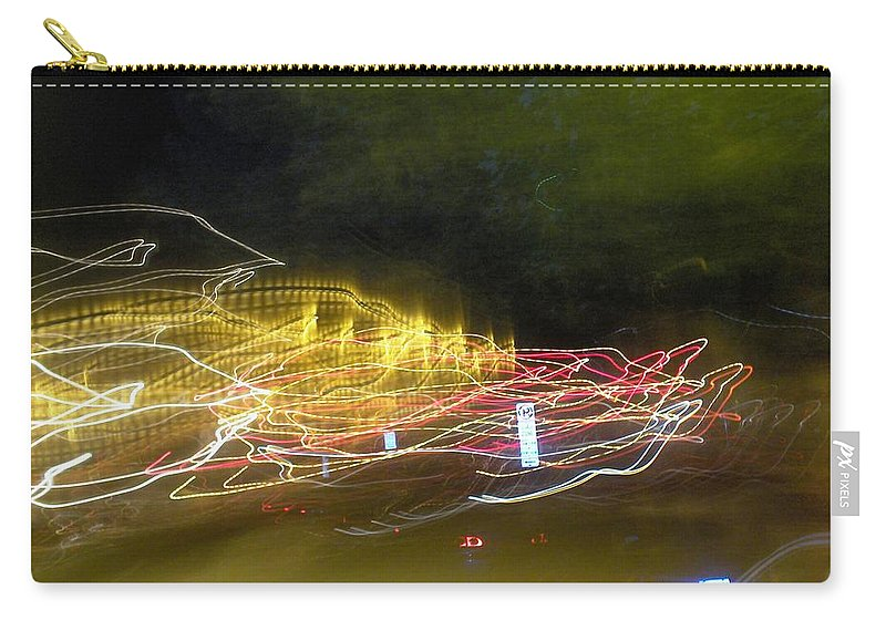 Photograph Carry-all Pouch featuring the photograph Coaster Of Lights by Thomas Valentine
