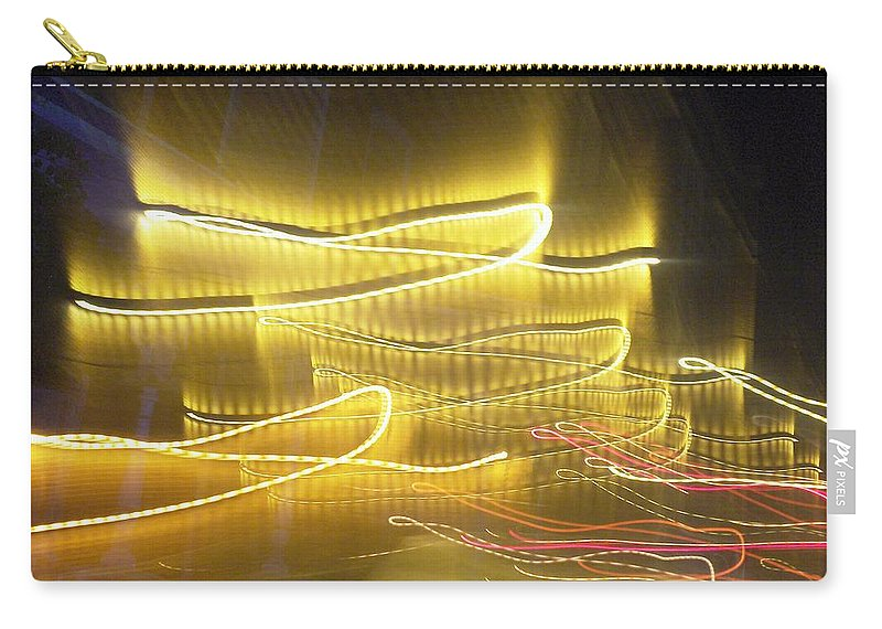 Photograph Carry-all Pouch featuring the photograph Coaster Of Lights Two by Thomas Valentine