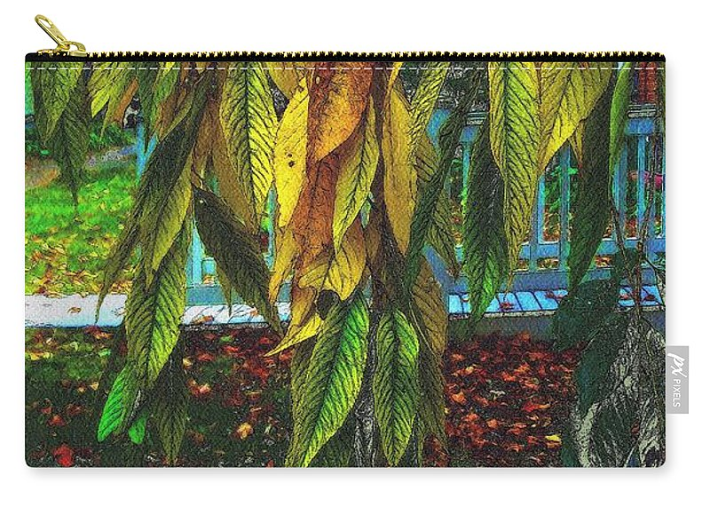 Autumn Carry-all Pouch featuring the painting Coat Of Many Colors by RC DeWinter
