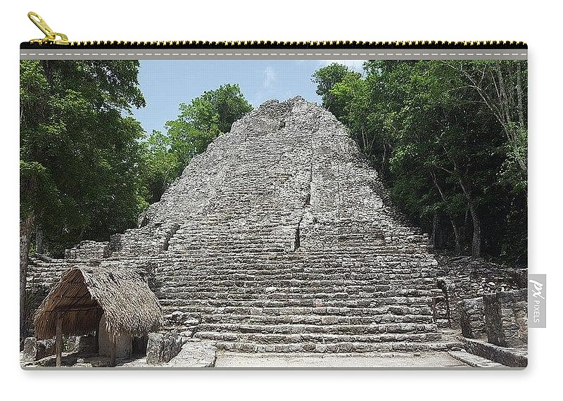 Coba Carry-all Pouch featuring the photograph Coba by Anthony Schafer