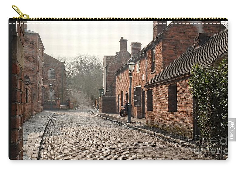 Street Carry-all Pouch featuring the photograph Cobbled Street by John Chatterley
