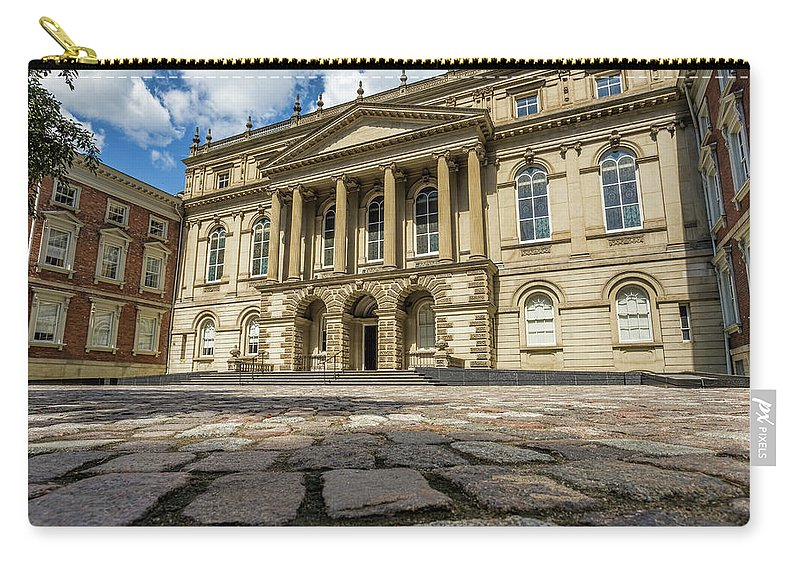 Court Carry-all Pouch featuring the photograph Cobblestones by Darlene Munro