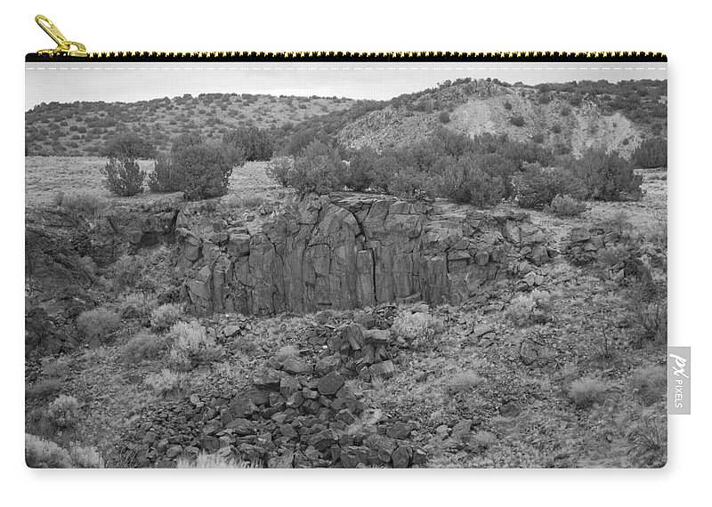 Rocks Carry-all Pouch featuring the photograph Cochiti Rocks by Rob Hans